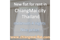 Flat for rent in ChiangMai Thailand